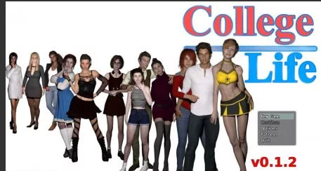 College Life 0.3.2 Game Walkthrough Download for PC Android