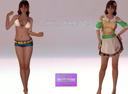 Coming of Age 1.3 Game Walkthrough Download for PC Android