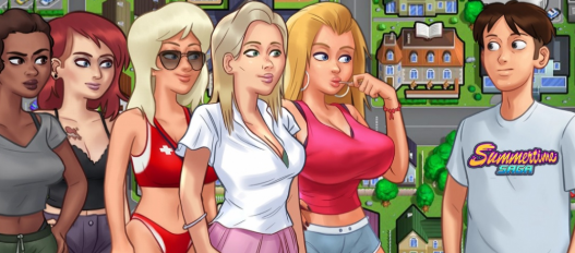 Summertime Saga 0.20 Apk and PC Game Walkthrough Download